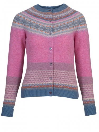 Eribè Knitwear Cardigan Alpin, Strickjacke, nougat rose