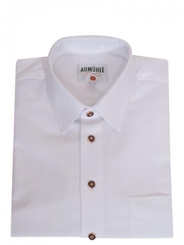 Waldorff Trachtenhemd weiß, festlich, in sich fein strukturiert