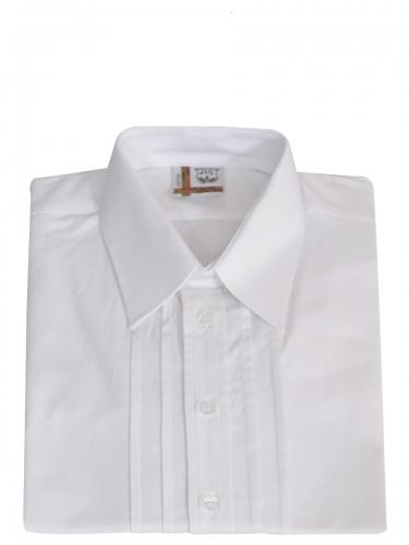 Schweighart Trachtenhemd weiß, Liegekragen, festlich