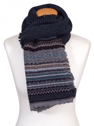 Eribè Knitwear Scarf Alpin, Strickschal, colliery