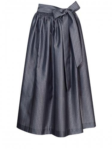 Hammerschmid Dirndlschürze, schwarz-grau, 89cm