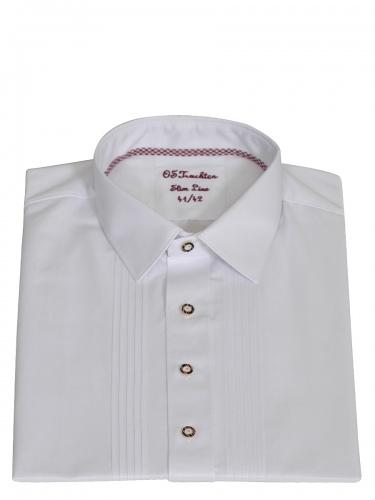 Orbis Trachtenhemd festlich in weiß SlimFit
