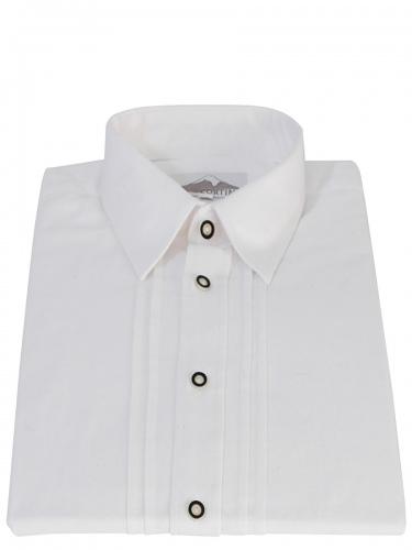 Kümmel Trachtenhemd weiß