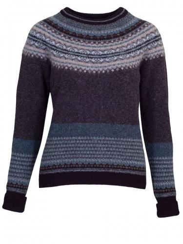 Eribè Knitwear Sweater Alpin, Pullover, colliery, grau