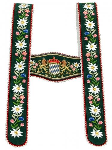Träger Nr.5 Werdenfels grün/St. Löwe