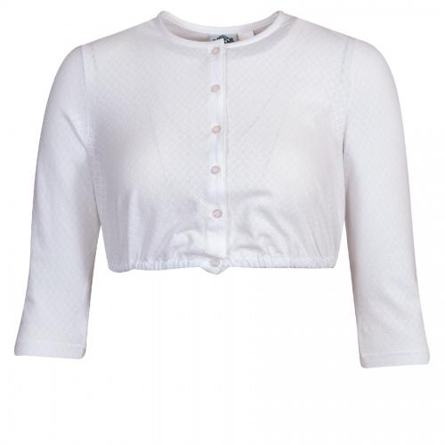 Hammerschmid Shirt-Dirndlbluse Flora, 3/4-Arm, strukturiert