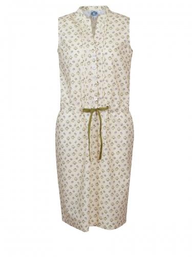 Hammerschmid Gardasee Kleid, zitronengelb, Blümchen