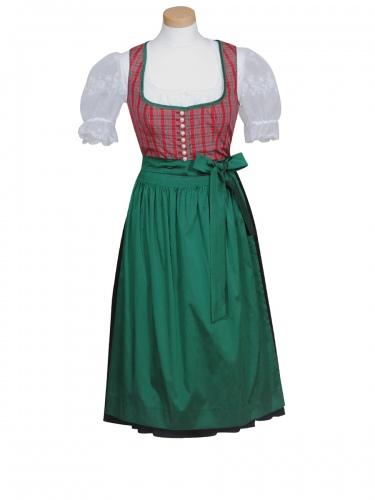 Moser Brigitte/Susi Dirndl, kurz, rot-grün, festlich