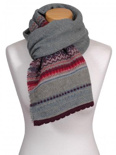 Eribè Knitwear Scarf Alpin, Strickschal, old Rose