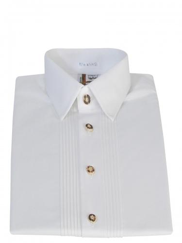 Schweighart Trachtenhemd durchgeknöpft weiß