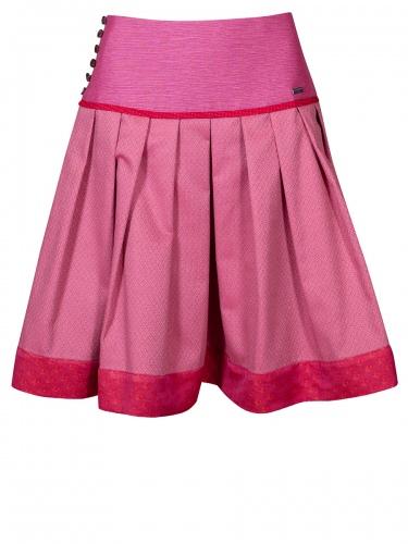 Die Rockmacherin Rock Kerndlgfuadert, rosa-rot, Y