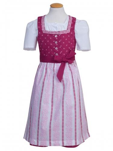 Wenger Kinderdirndl Uma pink, ohne Bluse