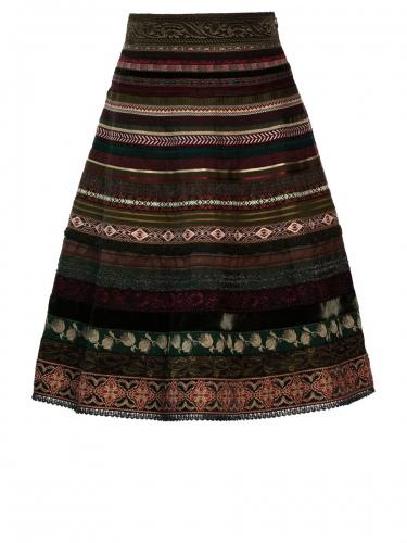 Lena Hoschek Bänderrock, Ribbon Skirt, tribe, verschiedene Borten