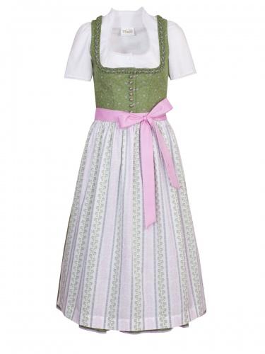 Wenger Lissy Dirndl, gras-rosa, 80cm