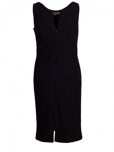 Hiebaum Lodenkleid schwarz, elegant, Trägerkleid