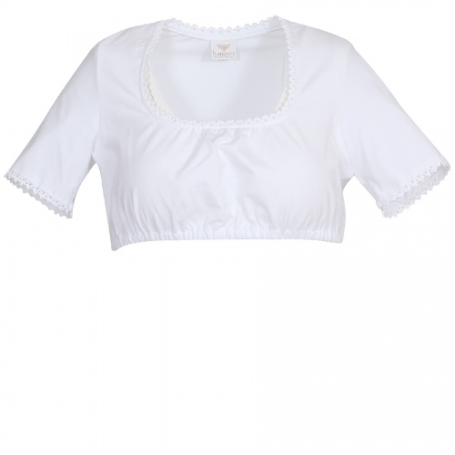 Moser Julika Dirndlshirt, weiß, elasthisch