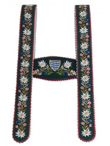 Träger Nr.5 Werdenfels grün/St. Blume