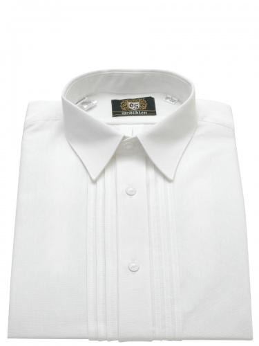 OrbisTrachtenhemd weiß