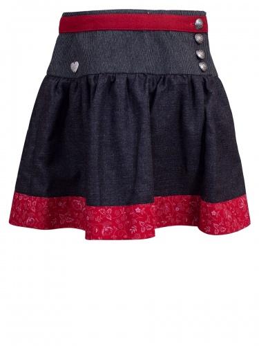 Hammerschmid Kinderrock Tölz, grau-schwarz mit rot