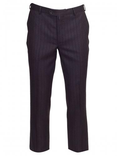 Klotz Stresemann Anzughose Enrico schwarz-grau gestreift