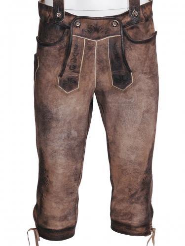 Maddox Rotwand Lederbundhose, Wildbock antik, stein