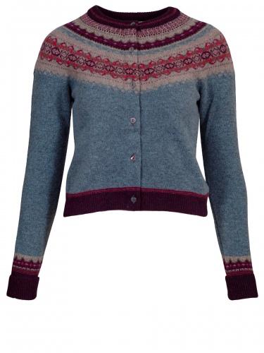 Eribè Knitwear Cardigan Alpin, Strickjacke, old Rose