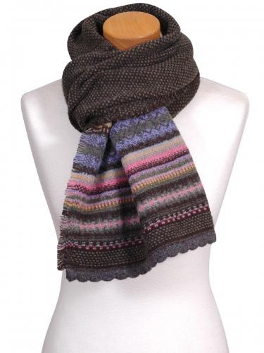 Eribè Knitwear Scarf Alpin, Strickschal, landscape