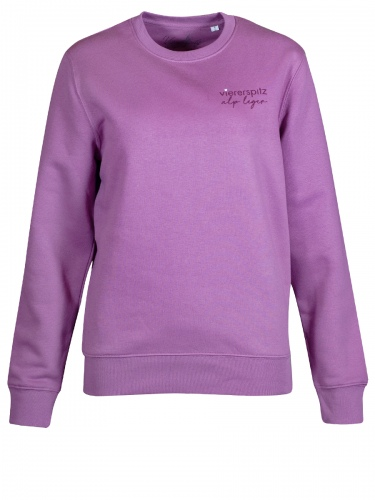 Viererspitz Cambi Sweater, mauve, Biobaumwolle